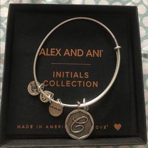 "Alex and Ani Initial ""C"" bracelet"